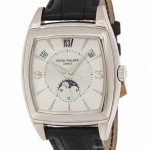 Patek Philippe Mens Gondolo 5135 18k White Gold Automatic Watch 5