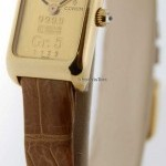 Corum 5 Gram Ingot 18k Gold  Diamond Watch