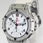 Hublot Big Bang Aspen 41mm Diamond Watch BoxPapers 342SE2