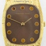 Omega Mens Vintage Dress Mechanical Watch 18k Yellow Gol