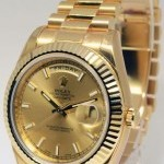 Rolex Day-Date II 18k Yellow Gold Mens Watch BoxPapers 2