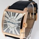 Franck Muller Master Square 18k Rose Gold Automatic Watch BoxPap