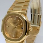 Patek Philippe Gubelin Nautilus 18k Gold Automatic Watch BoxPaper