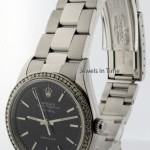 Rolex Air-King Stainless Steel  Diamonds BoxPapers Mens