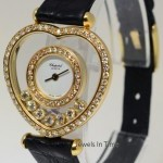 Baume & Mercier Happy Heart 18k Yellow Gold  Diamonds Ladies Skele