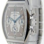 Franck Muller Havana 5850 CC HV AT Steel Chronograph on Bracelet