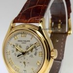 Patek Philippe Annual Calendar 18k Yellow Gold Mens Watch BoxPape