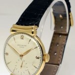 Chopard 1585 Vintage 18k Yellow Gold Mens Windup Watch Rar