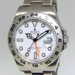 Rolex Explorer II Stainless Steel White Dial 42mm Mens W