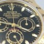 Rolex Daytona Chronograph 18k Yellow Gold Black Dial Men