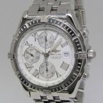 Breitling Windrider Crosswind Chronograph Stainless Steel Me