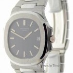Patek Philippe Mens Jumbo Nautilus Steel Automatic BoxArchival Do