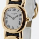 Patek Philippe Ladies 4830 Ellipse 18k Yellow Gold Watch