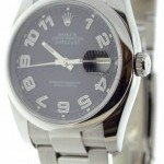 Rolex Mens Datejust 116200 G Serial Number Stainless Ste