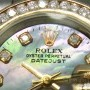 Rolex Datejust 18k Yellow Gold Stainless Steel MOP Diamo