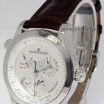 Jaeger-LeCoultre Jaeger LeCoultre Master Control Geographic Steel W