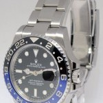 Rolex GMT-Master II Black  Blue Ceramic Stainless Steel