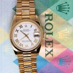Rolex Datejust President 18k Yellow Gold White Dial Mids