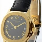 Patek Philippe Aquanaut 18k Yellow Gold Mens Automatic Watch BoxP