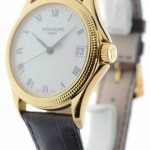 Patek Philippe Mens Calatrava 5117J Automatic 18k Yellow Gold Wat