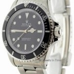 Rolex Submariner No Date Stainless Steel Black DialBezel