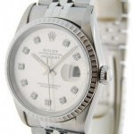 Rolex Datejust 16220 T Diamond Dial