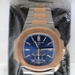 Patek Philippe Nautilus Chronograph Steel  18k Rose Gold Watch Bo