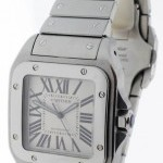 Cartier Santos 100 XL Stainless Steel Mens Automatic Watch