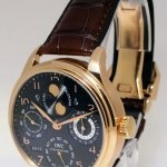 IWC Portuguese Perpetual Calendar 18k Rose Gold Watch