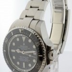 Rolex Deepsea Sea-Dweller Steel  Ceramic Mens Dive Watch