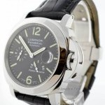 Panerai Luminor Power Reserve 44mm Steel Mens Watch BoxPap