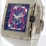 Richard Mille 18k White Gold Mens Automatic Limited Edition Watc