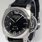 Panerai Luminor 1950 GMT 8 Days Steel 44mm Mechanical Watc