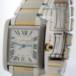Cartier Tank Francaise 18k Gold  Steel Automatic Mens Watc