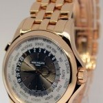 Patek Philippe World Time 18k Rose Gold Watch BoxPapers 51301R-01