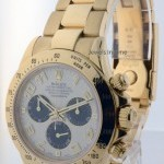 Rolex Daytona 18k Yellow Gold Panda Dial Chronograph Men