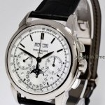 Patek Philippe Grand Complications Chronograph 18k White Gold Wat