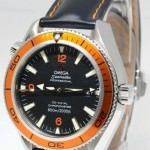 Omega Seamaster Planet Ocean Steel Mens 42mm Watch BoxPa