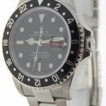 Rolex Mens GMT-MASTER II Stainless Steel Mens Watch  Box
