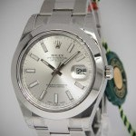 Rolex Datejust II Stainless Steel Silver Dial Mens Watch