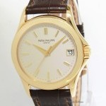 Patek Philippe Mens Calatrava 5107 18k Yellow Gold Automatic Watc