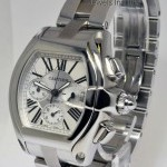 Cartier Mens XL Roadster Steel Automatic Watch BoxPapers 2