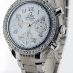 Omega Ladies Speedmaster Chronograph Mother Of Pearl Dia