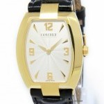Concord Mens La Scala 18k Yellow Gold Quartz Watch