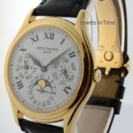 Patek Philippe Perpetual Calendar 18k Yellow Gold Mens Automatic