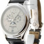 Patek Philippe Mens 5146G 18k White Gold Complicated Annual Calen