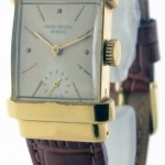 Patek Philippe Mens Vintage Top Hat 1450 18k Yellow Gold Watch  B