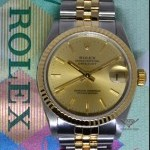 Rolex Midsize Datejust 31 18k Yellow Gold  Steel Jubilee