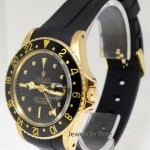 Rolex Details about   Vintage 18k Yellow Gold GMT-MASTER