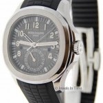 Patek Philippe 5164 Aquanaut Travel Time Steel Watch BoxPapers 51